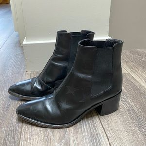 valentino star boot